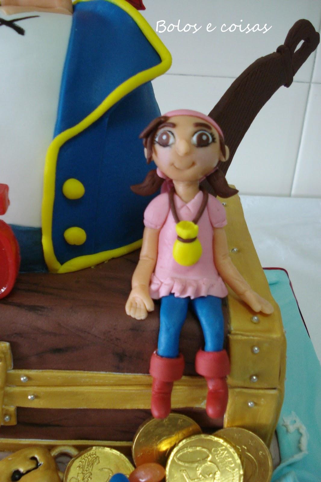 Cake Design Jake E Os Piratas : Jake e os Piratas do Martim Bolos e coisas - Bolos ...