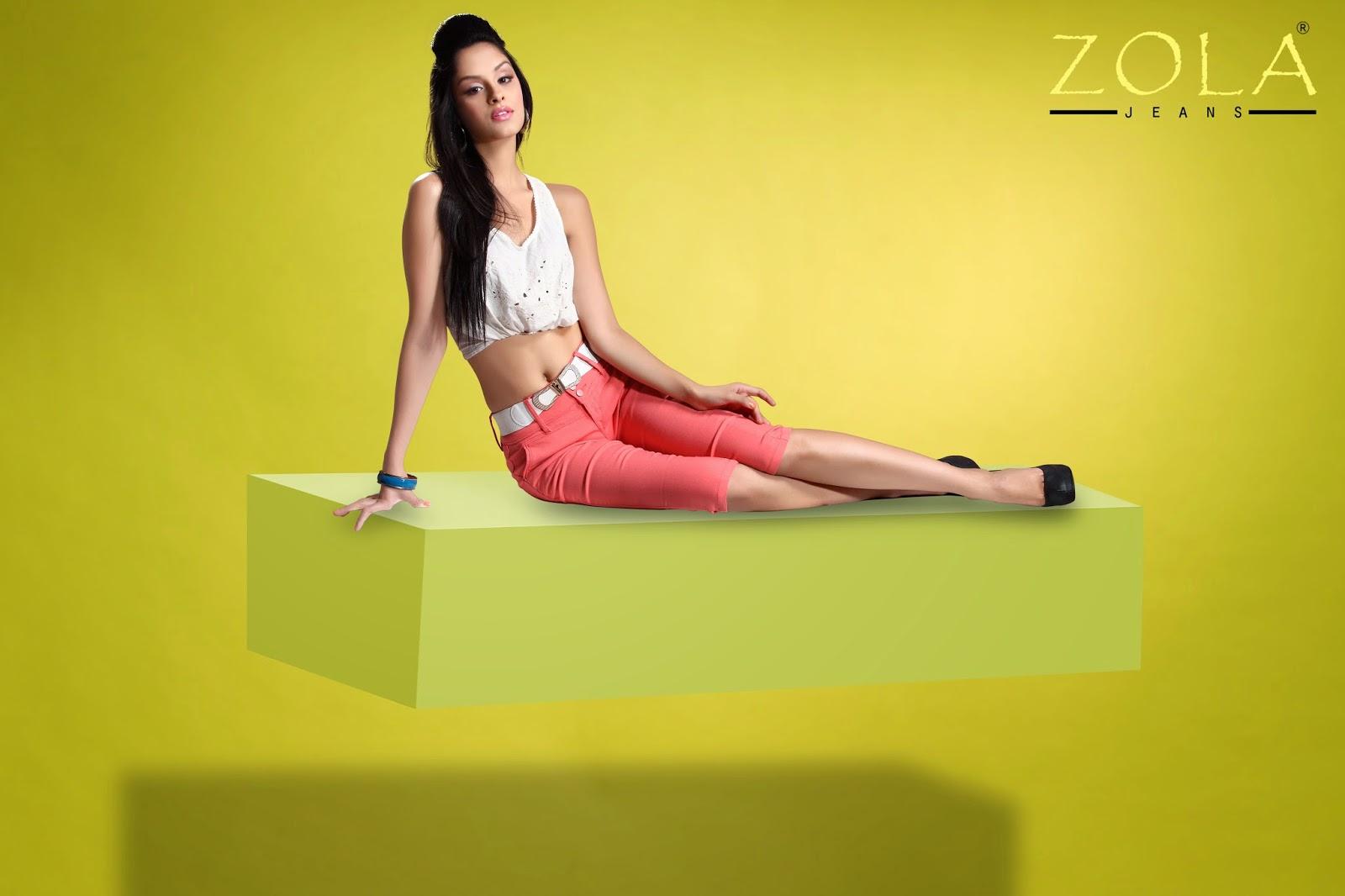 ZOLA Pink Women's Jeans