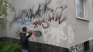 odstranění grafitti