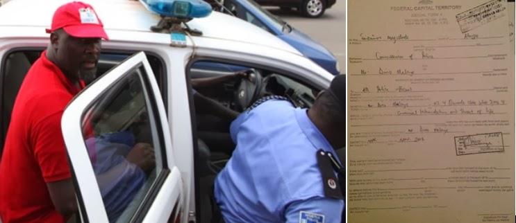 dino melaye rearrested