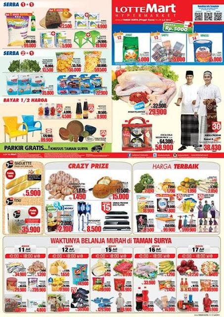 Katalog/Daftar harga promo Lotte Mart minggu ini 11 - 17 Juli 2013