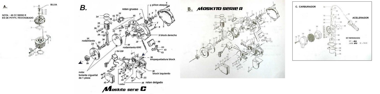 Motorized bicycles tutorials: 50cc motorized bicycle engine ...