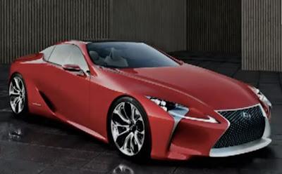 Honda Cars : Lexus LF LC 2+2 Sport Coupe Concept Leaked | 2013 New Honda Car  Reviews