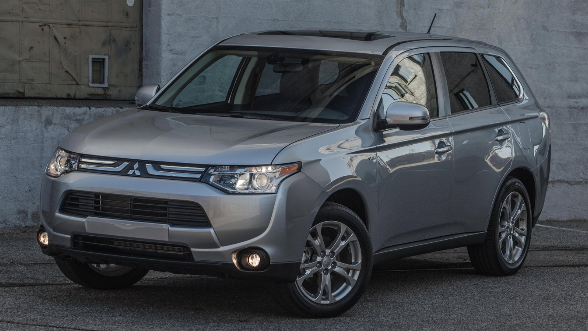 2014 mitsubishi outlander hd wallpapers. Black Bedroom Furniture Sets. Home Design Ideas