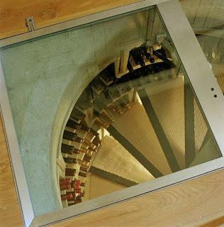 Escadas de garrafeira