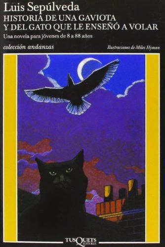 Historia de una gaviota y del gato que le enseñó a volar, de L. Sepúlveda
