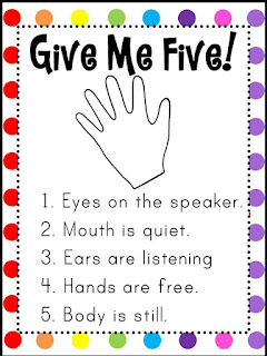 Give Me Five Colorful Poster