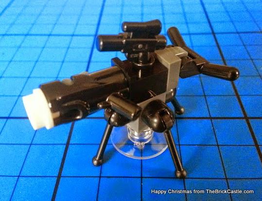 The LEGO Star Wars Advent Calendar Dec 7 gun turret