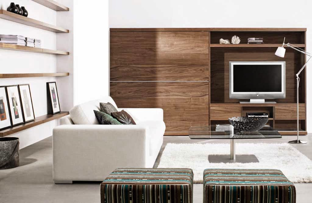 Decor Cabinets Decorative Wooden Furniture Minimalist Living Room