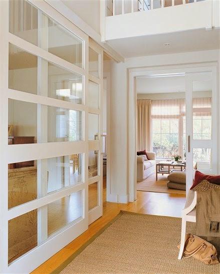 La maison 17 decoraci n interiorismo el recibidor i la - Puertas de espejo ...
