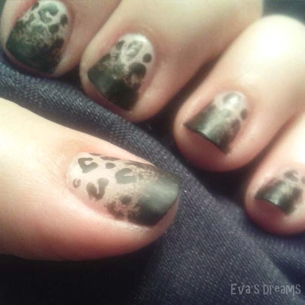 Nails of the week: Nail Design - Matte Leo Nägel