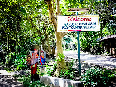 Welcome Gardens of Eco-Tourism Village, Malasag