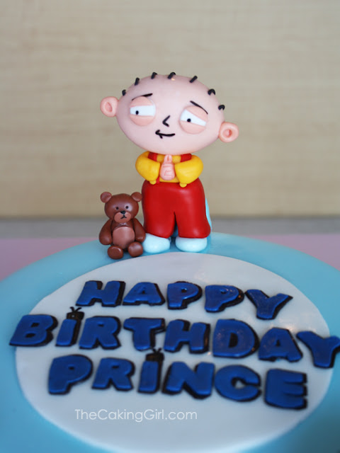 family guy stewie cake