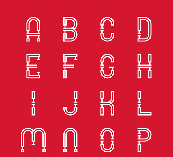 MECHANO (Free Typeface)