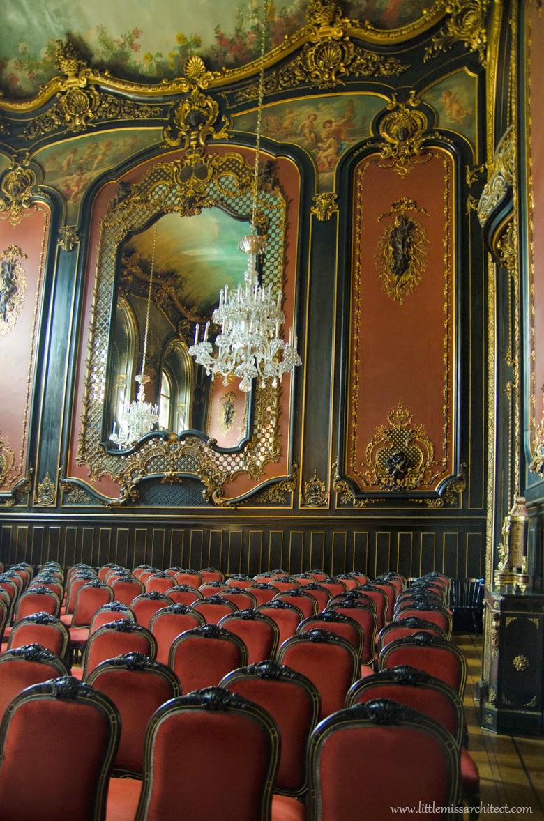Neo-baroque interiors, Pszczyna, Poland