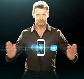 Micromax Canvas Turbo A250 with Hugh Jackman