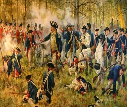 10mm Wargaming: My American War of Independence Book Library