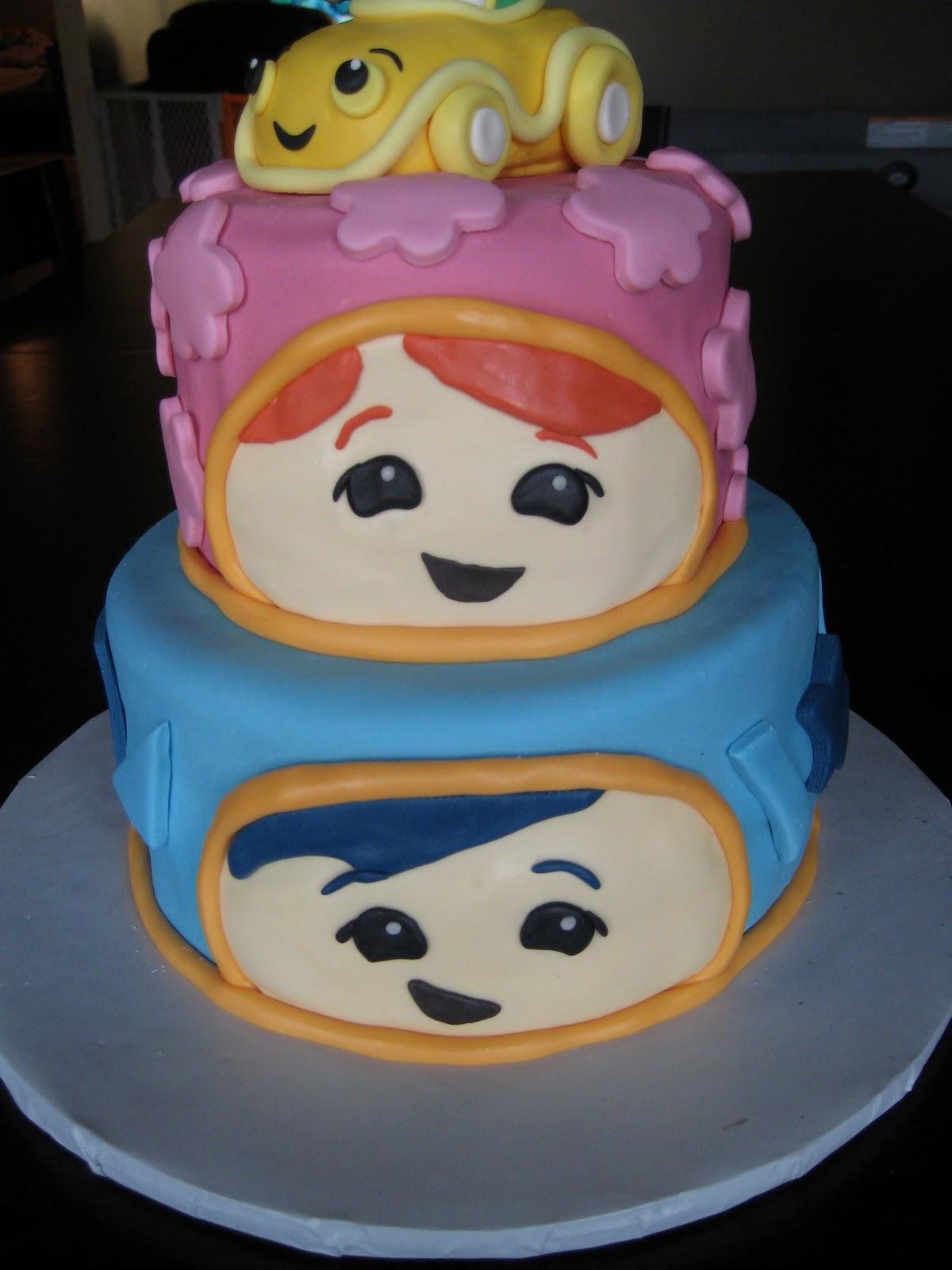 Umizoomi Bot Cake Topper Facebook