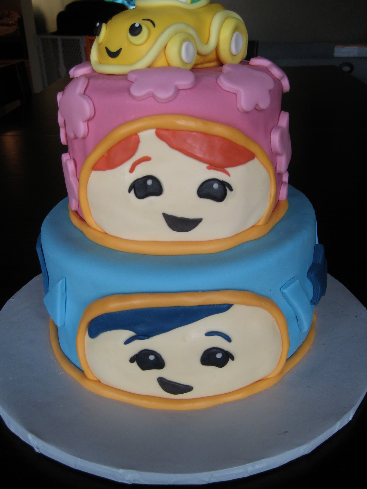 Team Umizoomi Cake Figurines