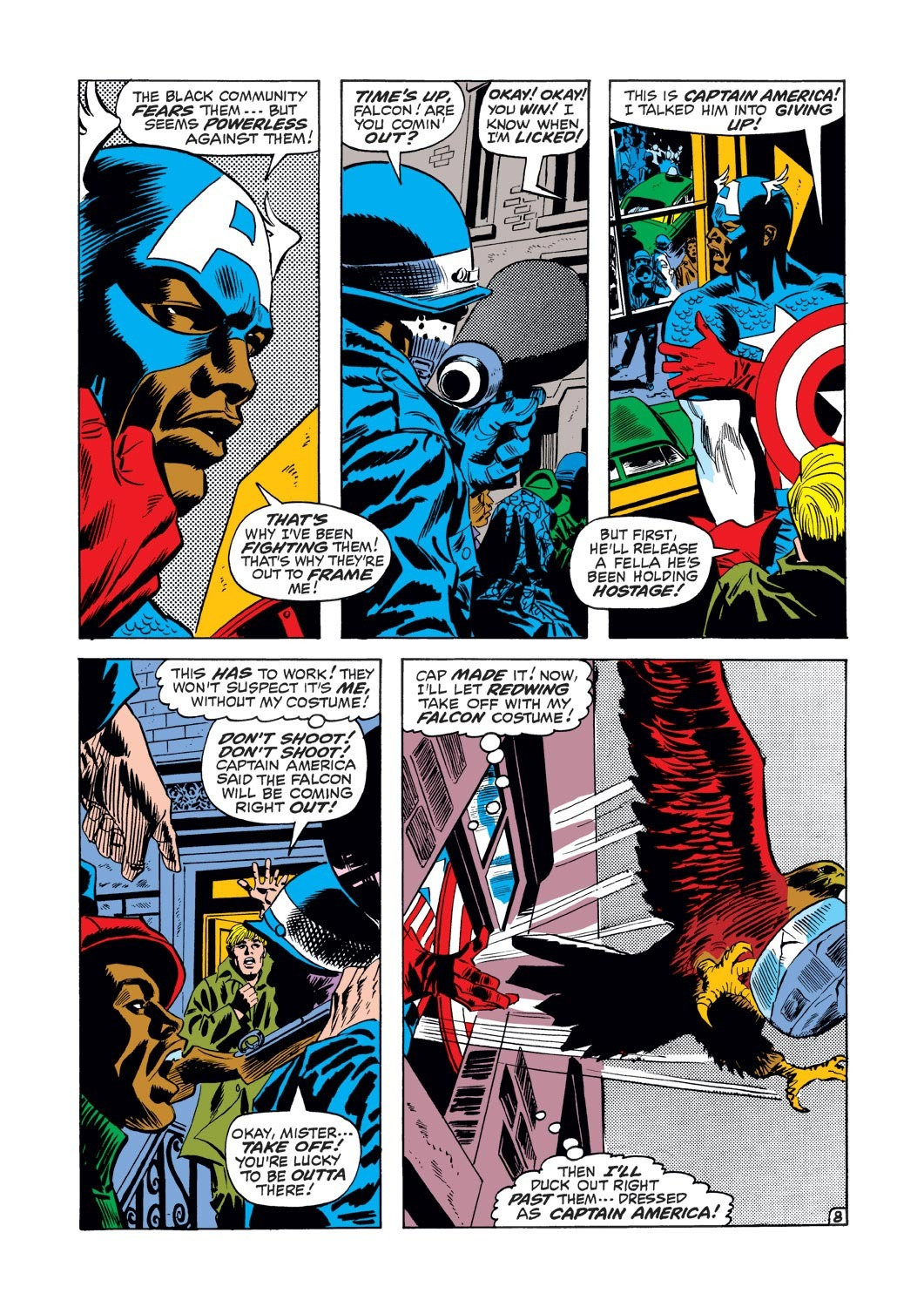 Captain America (1968) Issue #126 #40 - English 9