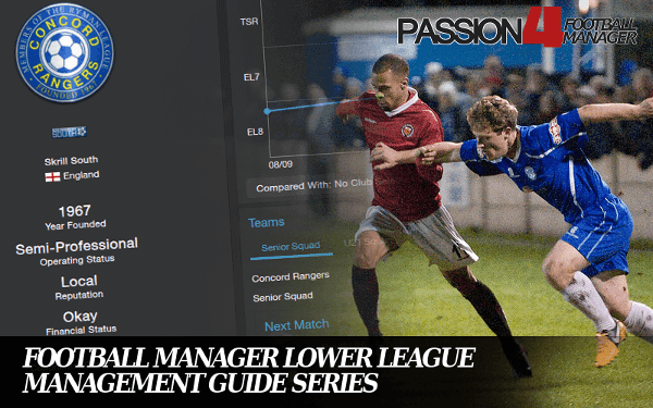Football Manager Lower League Management Guide Series