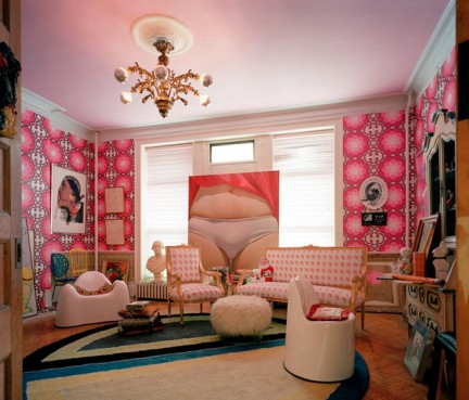 Salas estilo pop art ideas para decorar dise ar y for Arredamento pop art