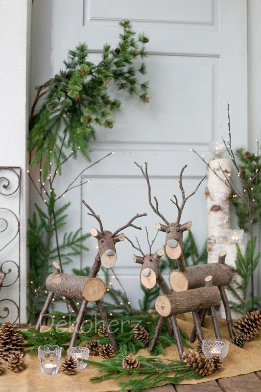 Dekoherz winterbastelei for Weihnachtsdeko aus paletten