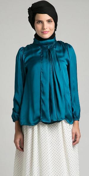 20 Contoh Foto & Gambar Baju Muslim Model Sekarang 2015