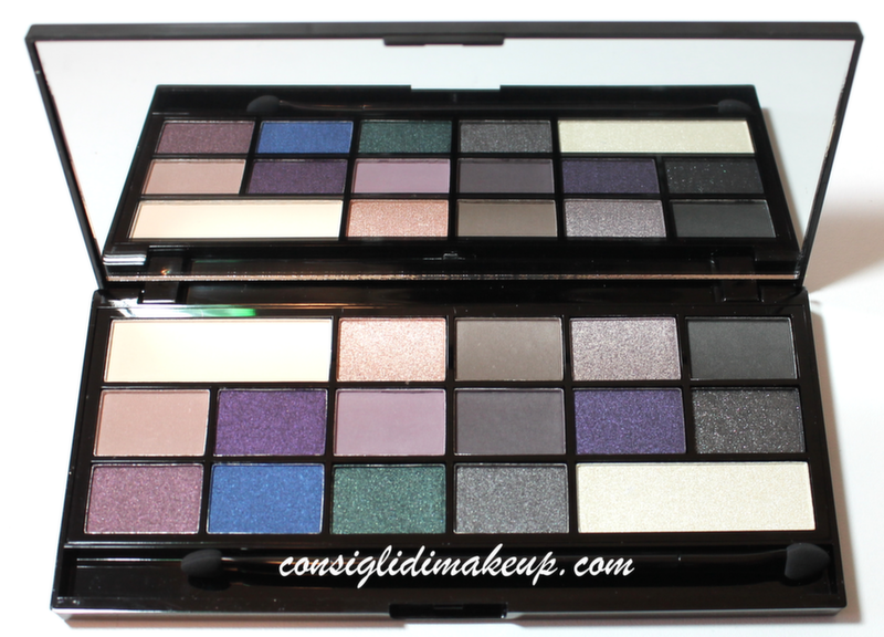 palette omaggio makeup revolution