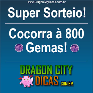 Super Sorteio - 800 Gemas