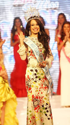 miss tourism international 2011 winner malaysia aileen gabriella robinson