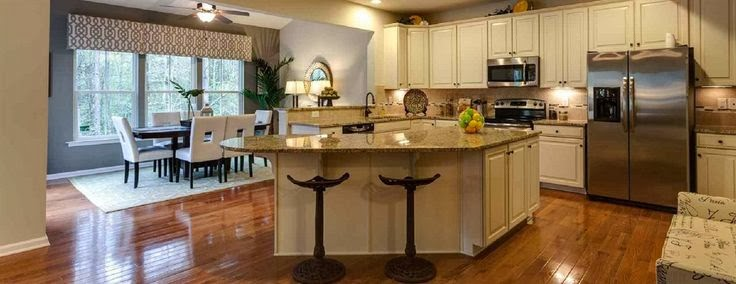 Ryan Homes Kitchen with Morning Room