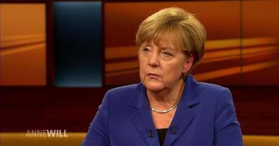 Angela Merkel, Nobel-díj, Nobel-békedíj, migráció, Németország, szír menekültek, határzár, Európai Unió, ARD, Das Erste, Anne Will