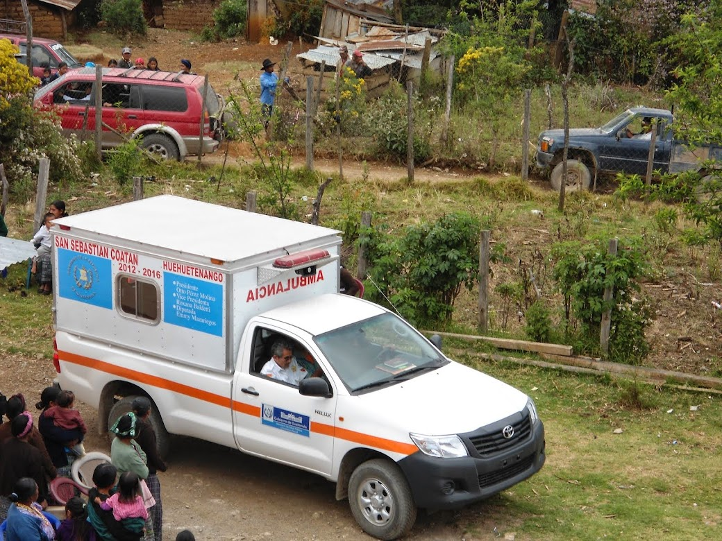 AMBULANCIA COMUNITARIA RURAL