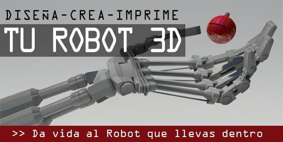 Dise a crea imprime tu robot 3d en navidad idus - Disena tu cocina 3d ...