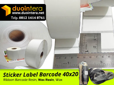 Sticker Label 40x20 - Label Barcode 40x20, Jual Label Barcode 40x20, Sticker Label Barcode, Jual Sticker Label, Label Barcode Semicoated, Label Barcode Thermal, Label Barcode YUPO, Label Barcode Surabaya, Label Barcode Bali, Sticker Label Surabaya, Sticker Label Bali,jual sticker label barcode, Sticker Products, Stiker Produk