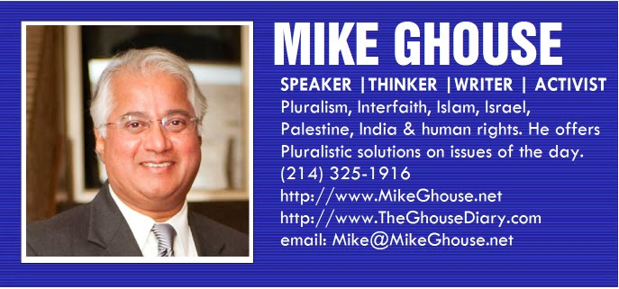 Speaker Mike Ghouse