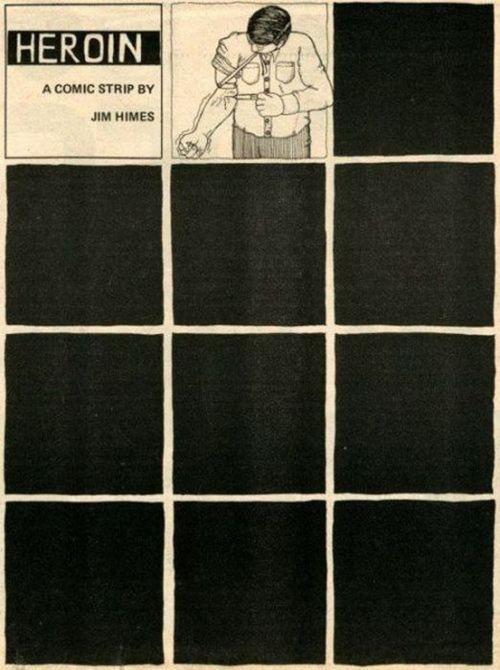 Uma história em quadrinhos sobre heroína