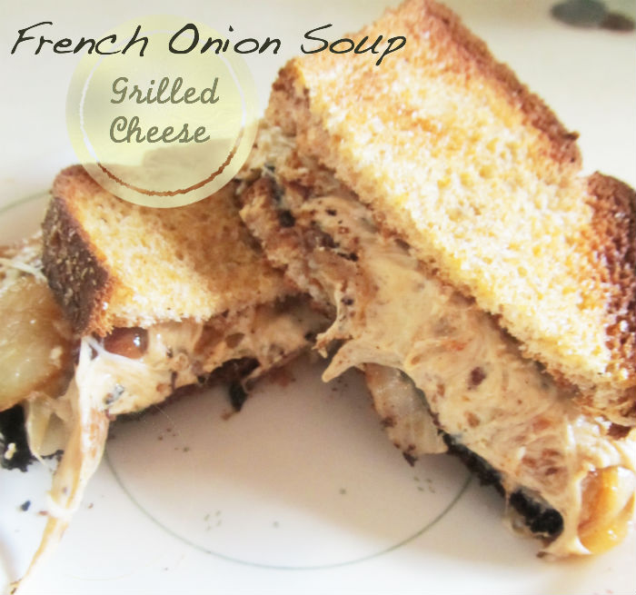 Living Bittersweetly: French Onion Soup Grilled Cheese