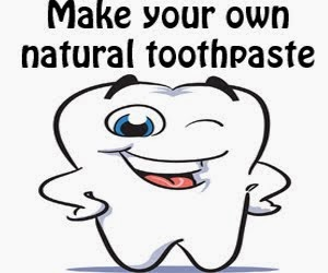 Lizzy's Natural toothpaste recipe: