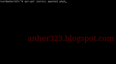 apt-get install apache2 php5