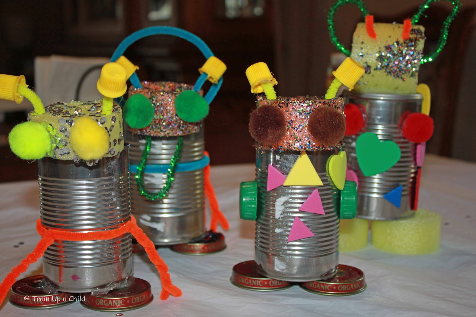 Tinkering around making robots learn play imagine for Uses waste material art craft
