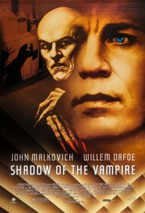 "Póster de ""Shadow of the Vampire"", de E. Elias Merhige, con John Malkovich y Willem Dafoe"