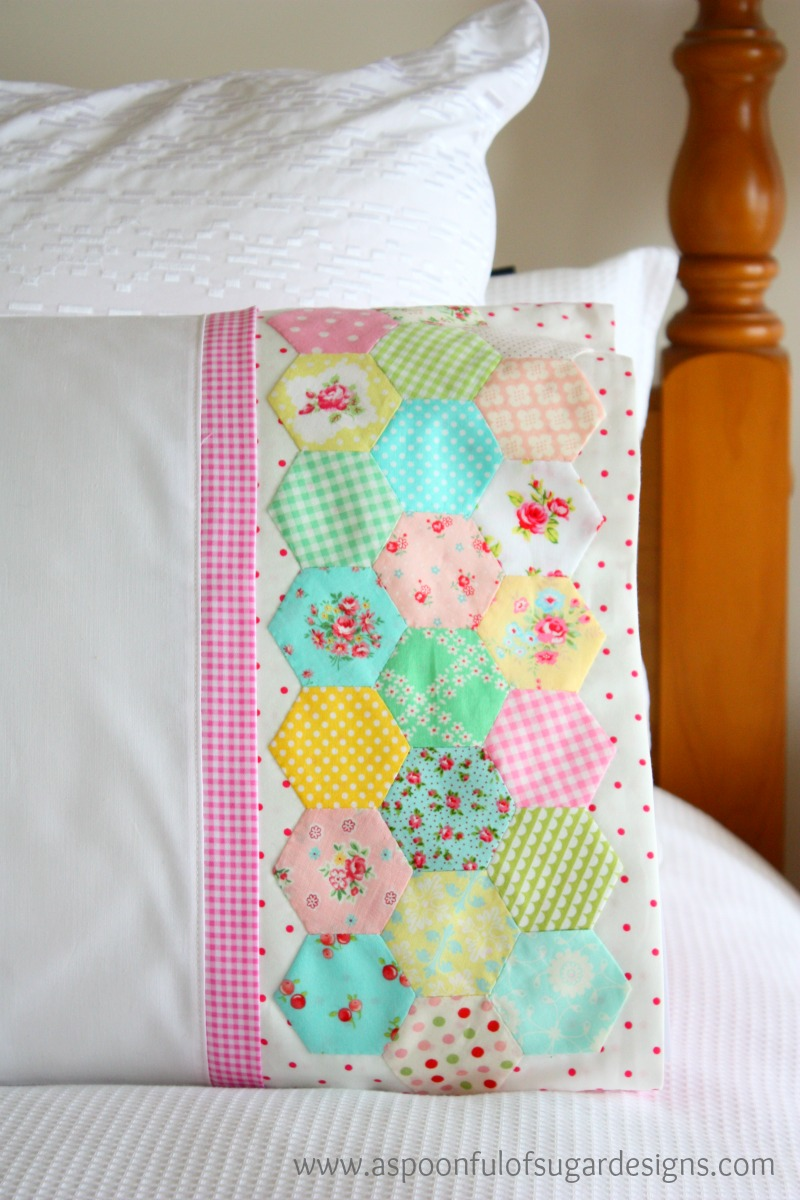 How to sew a pillowcase a spoonful of sugar how to sew a pillowcase jeuxipadfo Choice Image