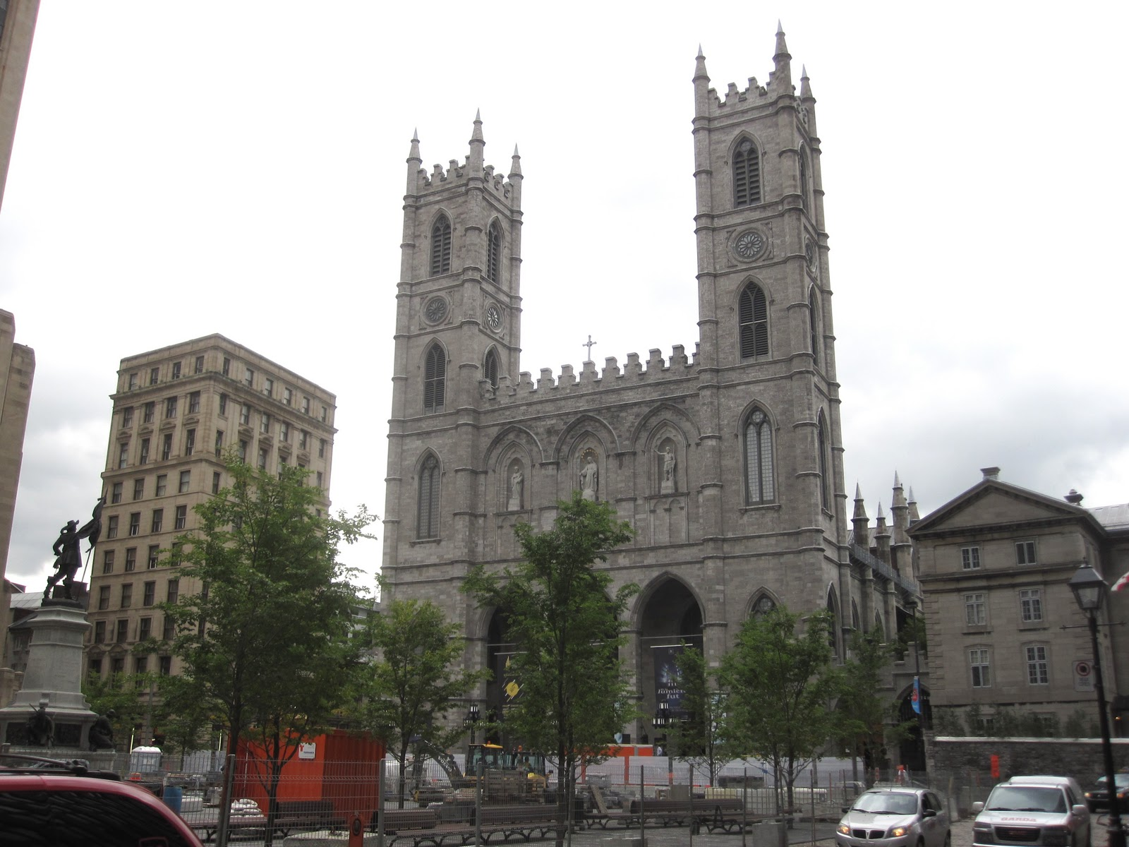 Cannundrums Notre Dame Basilica Montreal