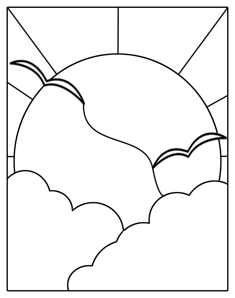 Stained glass patterns for free stained glass sun patterns maxwellsz