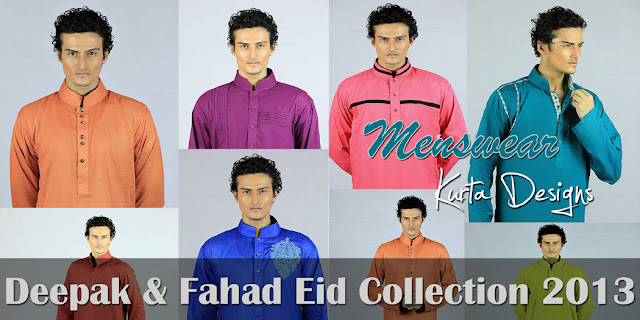 Deepak and Fahad Eid Collection 2013-2014