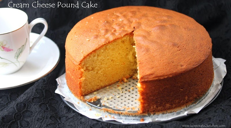 Korporate 2 Kitchen: Cream Cheese Pound cake