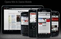 Opera Mobile mini browser