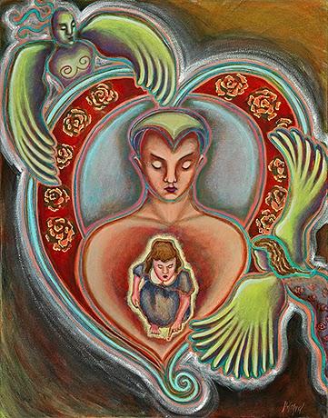 conceito de amor, família, amar, ser amado, feridas infantis, cuidar de si